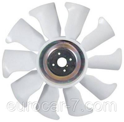 Вентилятор радіатора на двигун Mitsubishi S4E, S4E2, S4S, S4Q2, S6E , S6K, S6S, 4DQ5, 4DQ7, 4G63, 4G64, 6D16, 4D56
