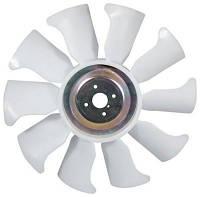 Вентилятор радиатора на двигатель Mitsubishi S4E, S4E2, S4S, S4Q2, S6E , S6K, S6S, 4DQ5, 4DQ7, 4G63, 4G64, 6D16, 4D56