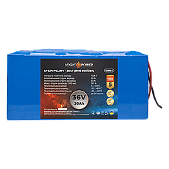 Акумулятор LP LiFePO4 36V - 30 Ah (BMS 50A/30А)