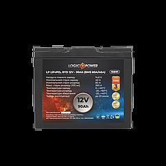 Акумулятор LP LiFePO4 BYD 12V - 90 Ah (BMS 80A/40А) пластик