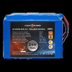 Акумулятор LP LiFePO4 BYD 24V - 75 Ah (BMS 60A/30A)
