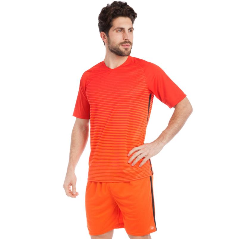 Форма футбол детск. CO-1825-R(М) Band  (PL, р-р М-170см, красный, шорты красные)