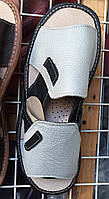 Мужские тапочки оптом 41-44 или 41-46 серые, фото 1