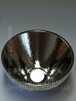 Відбивач 56×32×13 (Рефлектор) XHP70.2 XHP50.2 алюмінієвий текстурований для ліхтарів, фар, світильників .