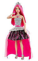 "Интерактивная кукла 2в1 Барби Кортни ""Барби: Рок-принцесса""  Barbie"