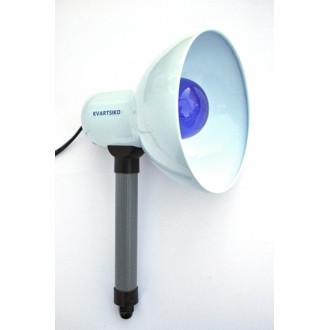 Синя лампа KVARTSIKO-СЛ Ручна