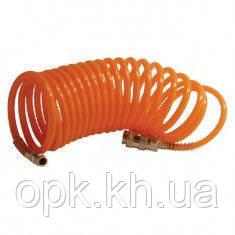 Шланг спиральный с быстроразъемным соединением 20 м INTERTOOL PT-1705 - ТОВ О.П.К. Компанi в Харькове