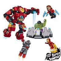 Конструкторы серии Hero, Hero fortess, Супергерои