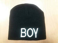 Мужская шапка хип-хоп с логотипом boy