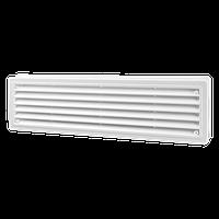 Решетка вентиляционная Домовент ДВ 440/2, дверная пластиковая решетка Domovent Украина