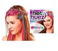 Цветные мелки пудра для волос hot huez оригинал Хот Хуез - мгновенное окрашивание, фото 3