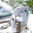 Мини Портативная швейная машинка 4 в 1 201, как на TV, Портативна швейна машинка Соу Віз, фото 2