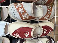 Женские тапочки оптом 37-40 красные, фото 1