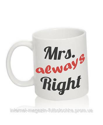 "Чашка ""Mrs."", фото 2"