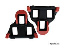 Шипы SPD-SL Shimano SM-SH10, красные