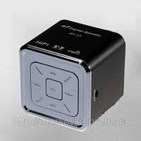 Мини портативная MP3 колонка от USB FM AF-17 Black,  AF17, AF 17, MicroSD, радио, SDHC, SD, черная