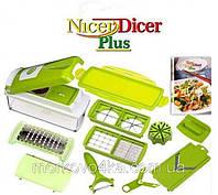Nicer Dicer Plus высшего сорта, овощерезка Найсер Дайсер Плюс,  овощерезку, измельчитель