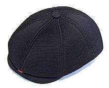 Кепка теплая восьмиклинка хулиганка Westone подкладка флис 59-60 см, темно-серая