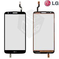 Touchscreen (сенсорный экран) для LG Optimus G2 D802 / D805, черный, оригинал