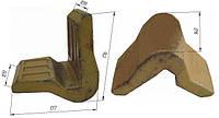 Угловая защита ковша (3.ЛМЗ.00.038)