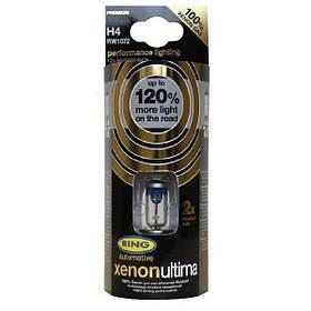 Автомобильные лампы Ring Xenon Ultima +120 H4