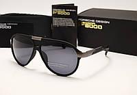 Мужские солнцезащитные очки Porsche Design 8527 цвет черный с серым