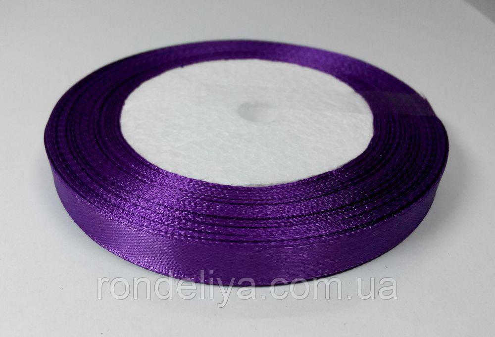 Лента атлас 1 см светло-фиолетовый