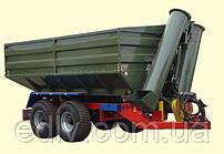 Перегрузочный бункер накопитель ПБН-16 к тракторам Т-150, МТЗ 1210, ХТЗ, грузоподъемностью 12 т и объемом 16 м