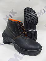 Ботинки рабочие кожаные литые утепленные
