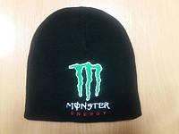 Зимняя вязаная шапка хип-хоп Monster Energy, с символикой монстер энерджи