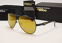 Мужские солнцезащитные очки Porsche Design 8615 коричневый хамелеон