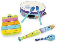 Барабани. набори музичних інструментів.