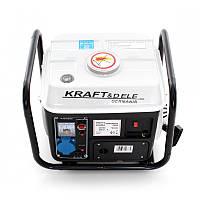 Генератор питания бензиновый Kraft&Dele 1200 Вт 12/230 В/2 КМ KD 109B портативный переносной для дома, фото 1