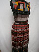 Молодежные сарафаны длинные штапельные , фото 1