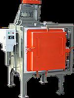 Камерная печь с защитной атмосферой и вентилятором
