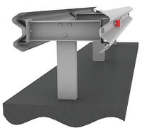 Ограждение дорожное двухстороннее металлическое оцинк. барьерного типа 11ДД барьерное ограждение