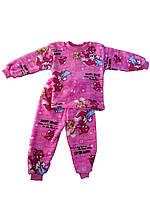 Пижама махровая на девочек