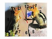 Часы настенные Все для тебя Бурундучки