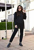 Теплий спортивний костюм чорного кольору від YuLiYa Сһимасһепко