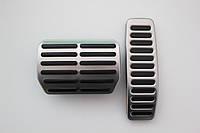 Накладки на педали оригинал (газ+тормоз) для Volkswagen Touareg 2003-
