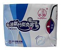 Прокладки женские гигиенические ХуэйЧжимей ночные 8 шт