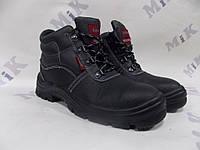 Ботинки кожаные мет.носок Strong, Латвия 37р.