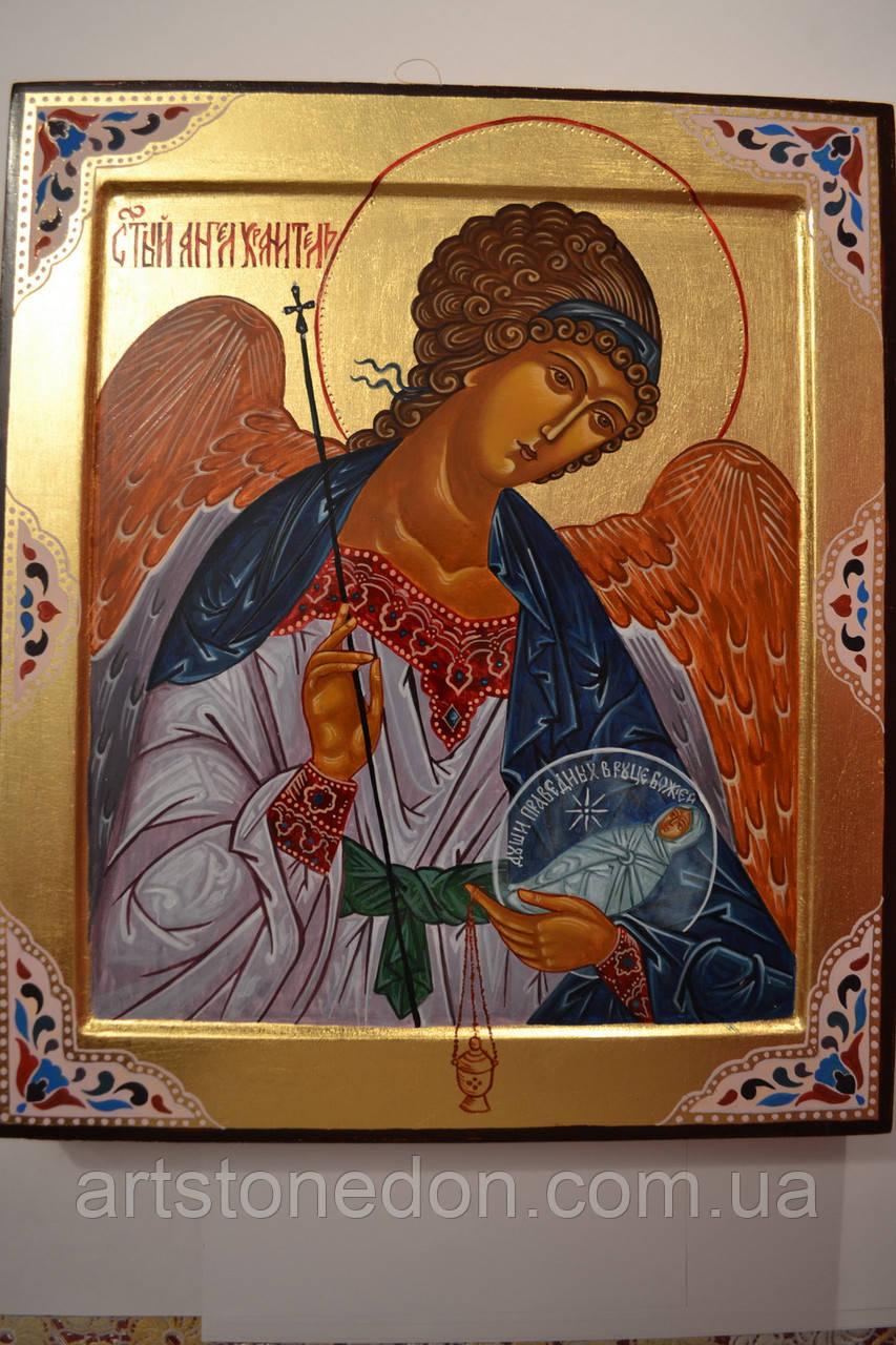 Икона Святого Ангела Хранителя на ковчежной доске