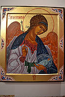 Икона Святого Ангела Хранителя на ковчежной доске, фото 1