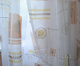 """Тюль печать """"Абстракция"""", фото 2"""