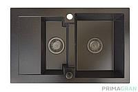 Гранитная мойка Primagran Sydney + смеситель Prima5000