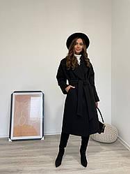 Шикарное женское зимнее пальто из кашемира Влада 11933