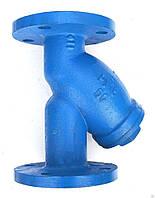 Фильтр сетчатый для воды чугунный фланцевый Ду 50