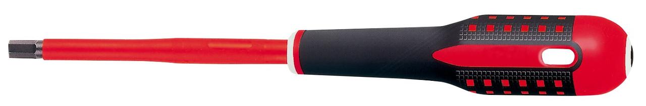 Электроизолированная отвертка под винты с шестигранным гнездом, с рукояткой ERGO™, Bahco, BE-8704S