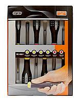 Набор отверток ERGO™ (6 штук) под винты co шлицем и Phillips, Bahco, BE-9881